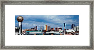 Downtown Skyline, Knoxville, Tennessee Framed Print