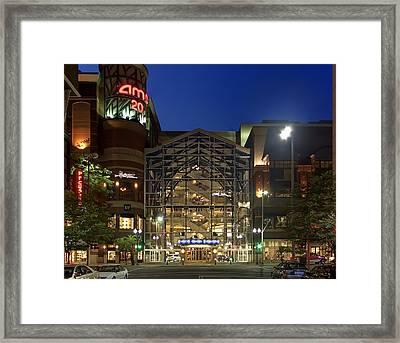 Downtown Spokane Washington Framed Print by Daniel Hagerman