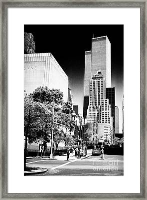 Downtown Views 1990s Framed Print