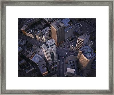 Downtown Winnipeg Framed Print