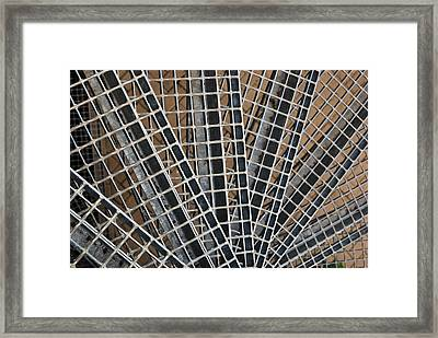 Downward Spiral Framed Print by Wendy Wilton