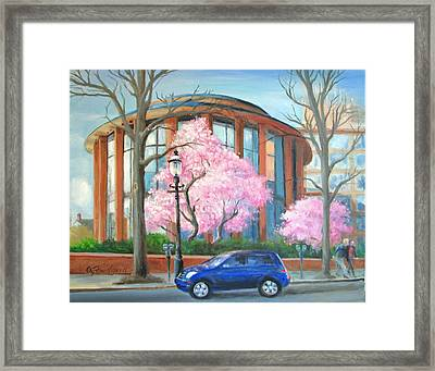 Doylestown Court House Framed Print by Oz Freedgood