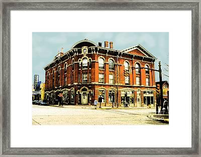 Doylestown-lenape Hall Framed Print