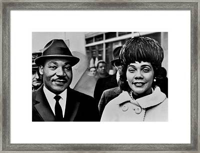 Dr And Mrs King Framed Print by Benjamin Yeager
