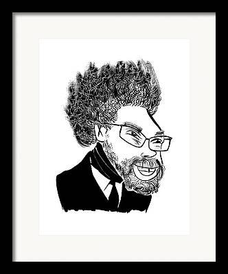Cornel West Framed Prints