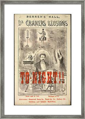 Dr Cramers Illusions Framed Print by British Library