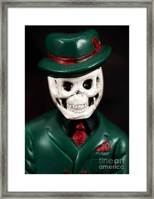 Dr. Death Framed Print by John Rizzuto