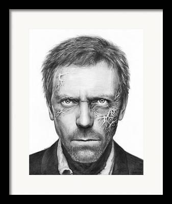 Celebrities Drawings Framed Prints