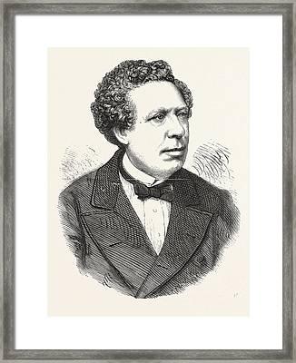 Dr. Henry Letheby, 18161876, Analytical Chemist And Public Framed Print