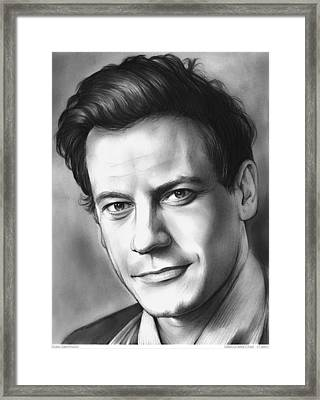 Dr. Henry Morgan Framed Print by Greg Joens