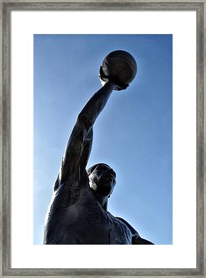 Dr. J. Framed Print by Bill Cannon