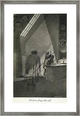 Dr. Jekyll & Mr. Hyde Framed Print