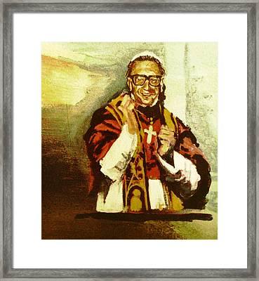 Dr. John M. Pope Framed Print