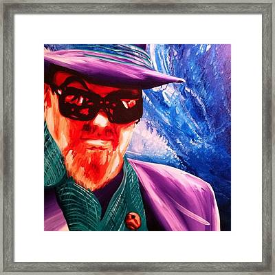 Dr John Original Painting #jazz #drjohn Framed Print