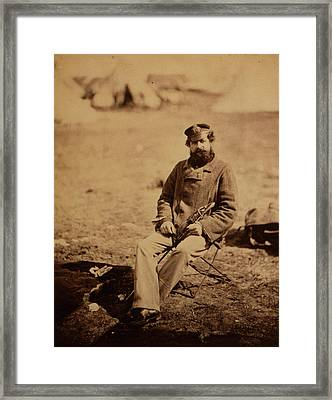 Dr. Marlow, 28th Regiment, Crimean War, 1853-1856 Framed Print by Quint Lox