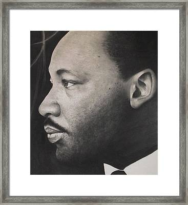 Dr. Martin Framed Print by Adrian Pickett