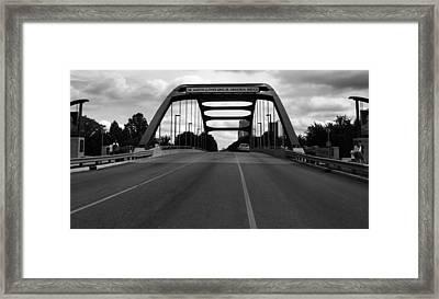Dr. Martin Luther King Jr. Memorial Bridge  Framed Print by Dan Sproul
