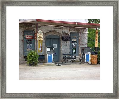 Framed Print featuring the photograph Dr Pepper Diesel  Musella  by Douglas Fromm