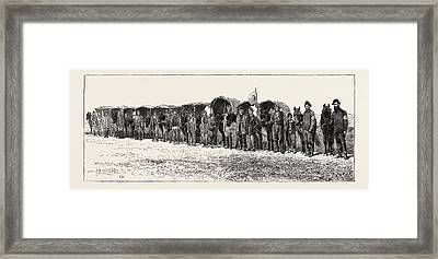 Dr. Stokers Field Ambulance Corps Stafford House Society Framed Print by Turkish School