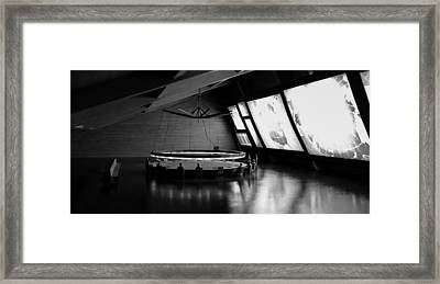 Framed Print featuring the photograph Dr. Strangelove - Command Center by Michael Hope