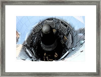 Dr. Strangelove Has A Baby Framed Print