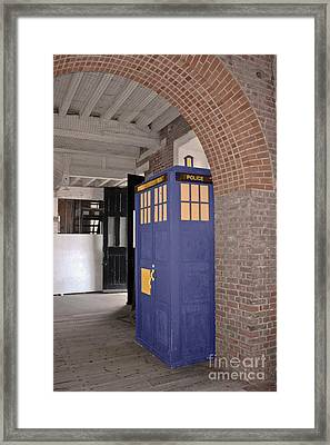 Dr Who Framed Print by Terri Waters