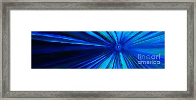Dr Who Vortex Framed Print