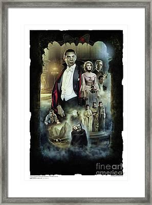 Dracula 1931 Framed Print by Gerardo Moreno
