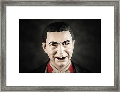 Dracula - Bela Lugosi Framed Print by Marco Oliveira