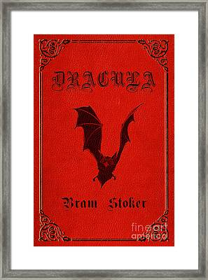 Dracula Book Cover Poster Art 1 Framed Print by Nishanth Gopinathan