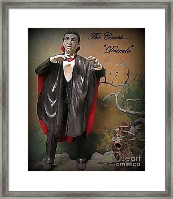 Dracula Model Kit Framed Print