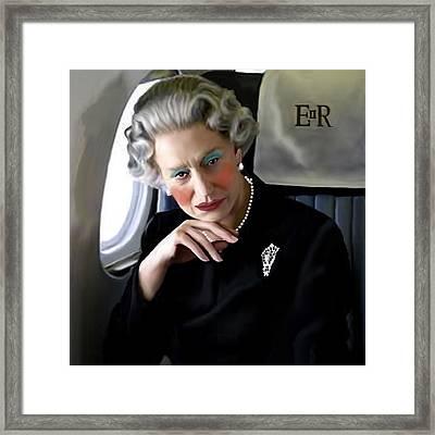 Drag Queen Helen Framed Print