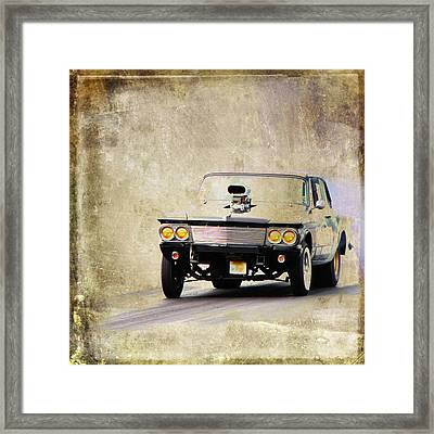 Drag Time Framed Print by Steve McKinzie