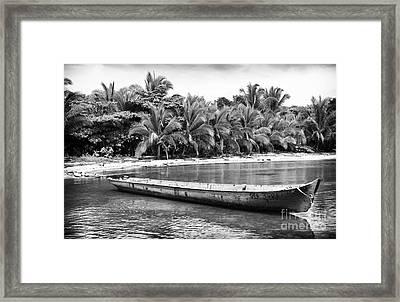 Drago Canoe Framed Print by John Rizzuto