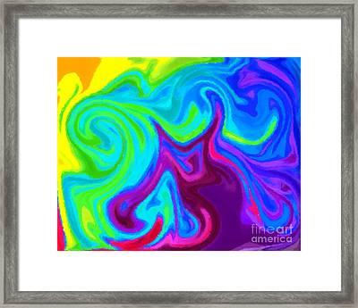 Dragon 2 Framed Print by Chris Butler