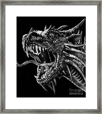 Dragon Framed Print by Bill Richards
