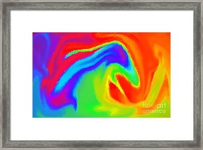 Dragon Framed Print by Chris Butler