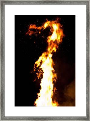 Dragon Framed Print by Claus Siebenhaar