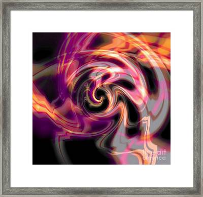 Dragon Cloud Framed Print by Anthony Morris