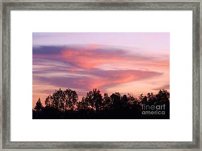 Framed Print featuring the photograph Dragon Clouds by Meghan at FireBonnet Art