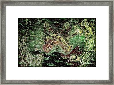 Framed Print featuring the photograph Dragon Dream by Kathie Chicoine