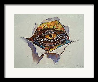 Drachen Framed Prints