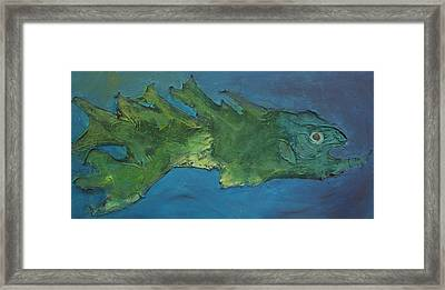 Dragon Fish Framed Print