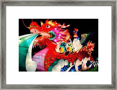 Dragon Float Framed Print