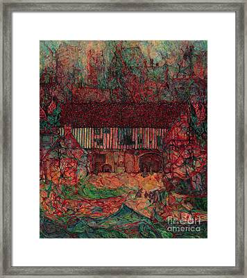 Dragon Hall Framed Print