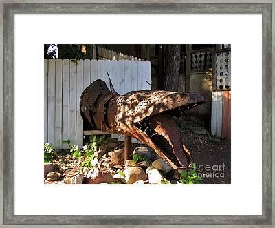 Dragon Framed Print by Katrina Eckenrode