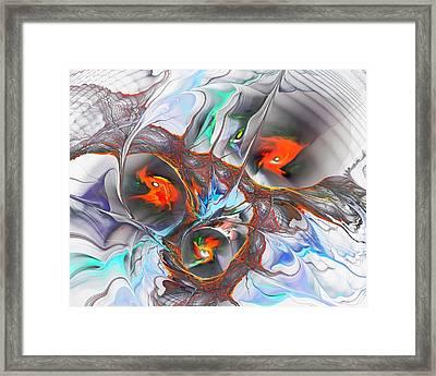 Dragon Nest Framed Print by Anastasiya Malakhova