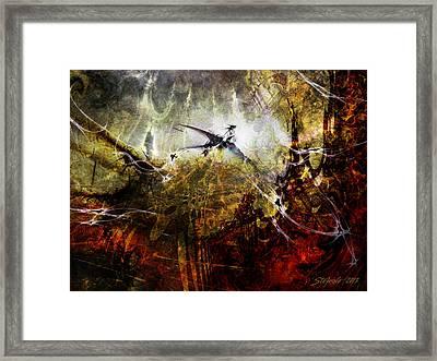Dragon Realms Framed Print