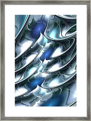 Dragon Scales Framed Print by Anastasiya Malakhova