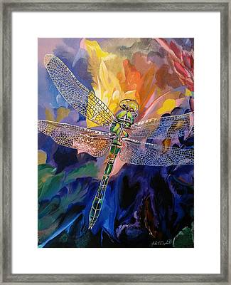 Dragon Summer Framed Print